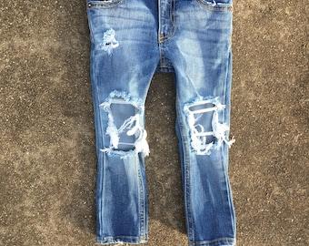 Super Distressed Jeans