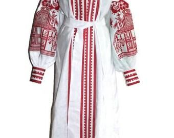 Kaftan Abaya Dress Embroidered dresses Bohemian Clothes Vyshyvanka Woman Ukrainian Embroidery Boho Clothes Vishivanka Ukraine Open in front