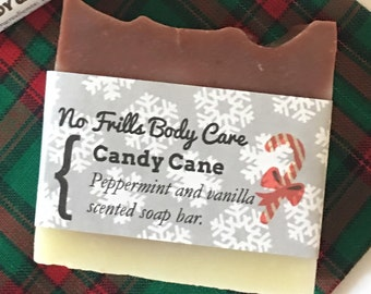 Peppermint All Natural Soap -Free Shipping