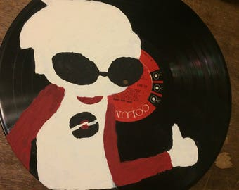 Dave Strider Record Painting