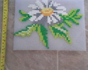 Daisy Flower Perler