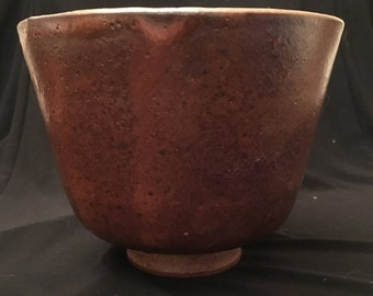 Tall shino bowl
