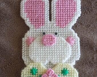 Handmade Finished Easter Bunny Refrigerator Magnet