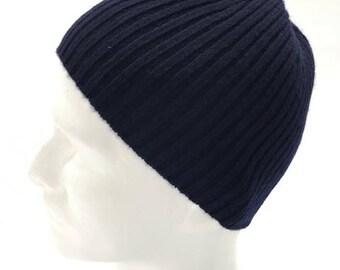 100% Cashmere Beanie skull Hat