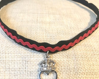Queen of Hearts Inspired Choker