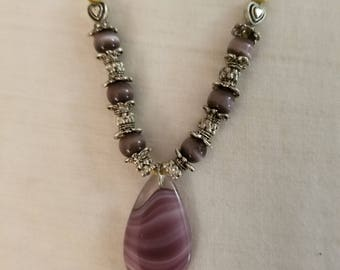 "Simply Purple - 18"" Necklace"