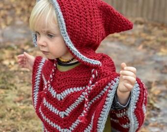 Custom Crochet Toddler Poncho