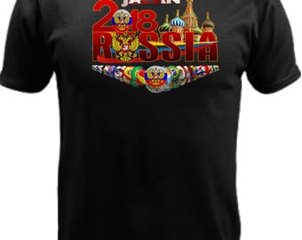 Japan World Cup Russia 2018 t-shirt