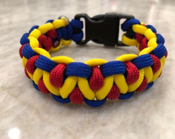 Colombian Flag Bracelet