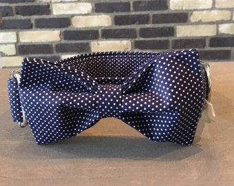 Bow Tie Dog Collar