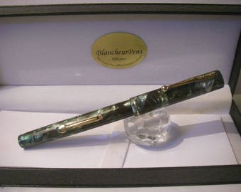 Restored: Vintage Waterman's Ideal 32 fountain pen Canada 1933-Nib Waterman 2 Gold 14Kt