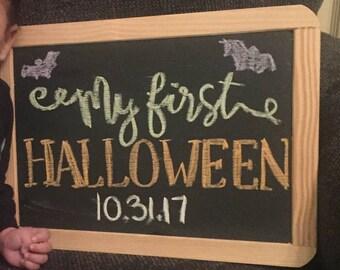 Baby Milestone Chalkboards