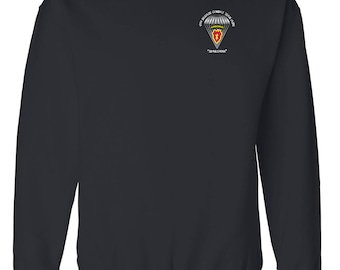 25th Infantry Division (Airborne)  Embroidered Sweatshirt-7007