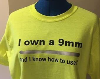 Crochet T-shirt 9mm