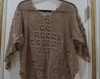 Knit Beach Cover Up