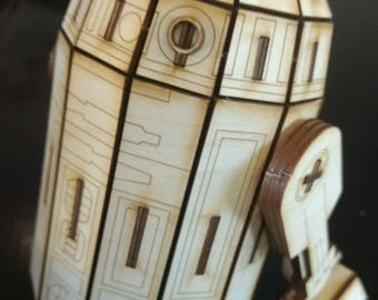 Wooden Droid Model