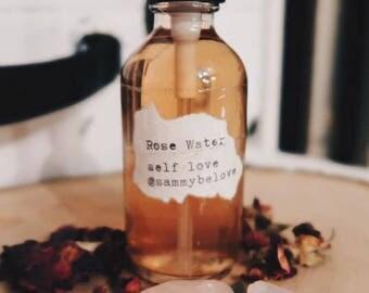 Rose Water: Self Love Intention Spray