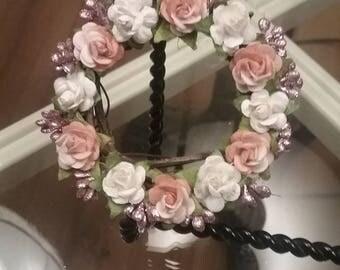 Tree ornament or mini wreath