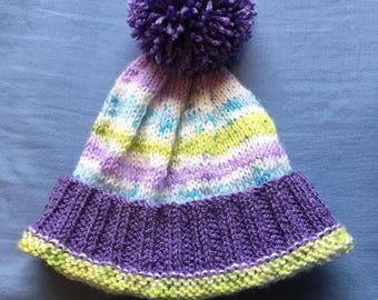 Toddler Bobble Hat
