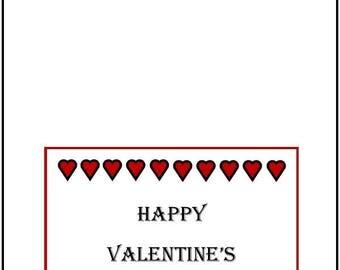 Happy Valentine's Day printable
