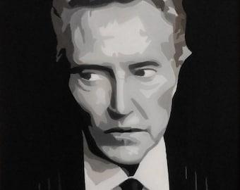 Christopher Walken - original oil painting