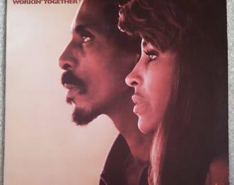 Ike & Tina Turner - Workin' Together LP (ORIGINAL '70)