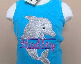 Personalized Split Dolphin shirt