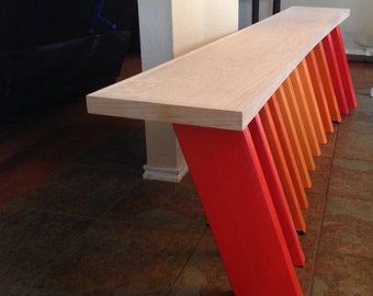 Contemporary Cool Sitting Bench