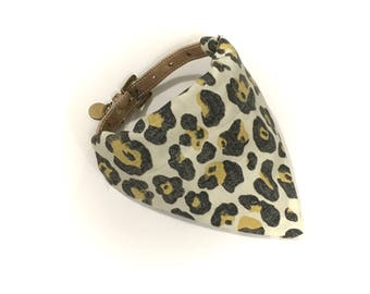 Cheetah Cheetah Dog Collar Bandana
