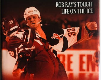 Rayzor's Edge - Rob Ray's Tough Life On The Ice - Hard Cover - Signed by Rob Ray & Budd Bailey- Buffalo Sabres
