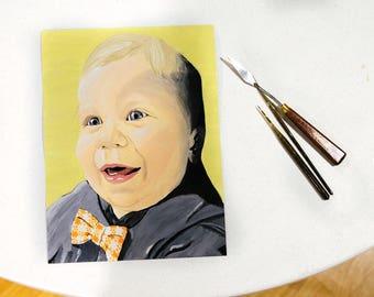 Custom Painted Portraits