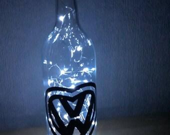 VW Themed LED Bottle Lamp