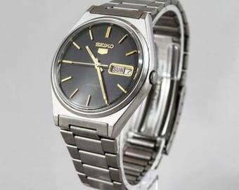 Vintage Seiko 5 6309-8970 Automatic Watch