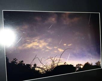 "Geminid Metoeors & Stars Landscape 18""x24"""