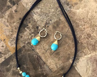 Turquoise Jewelry Set- Great for Valentine's Day!