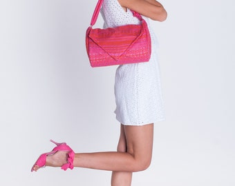 Rose bag, Girls bag, Woman Summer mood bag