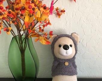 Sock cozy bear