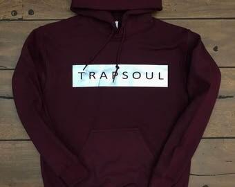 Bryson Tiller Trapsoul Hoodie (Silver Logo)