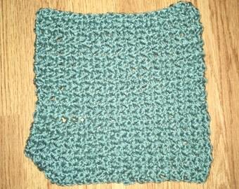 Custom Crocheted Washcloth