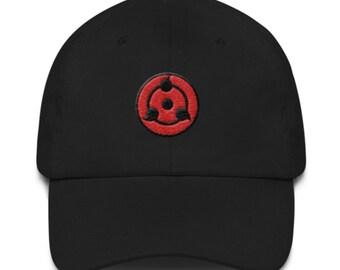 Sharingan inspired Dad hat