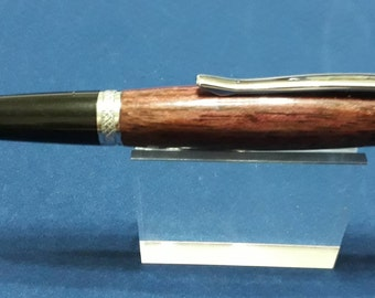 Purple heart hand crafted ball pen