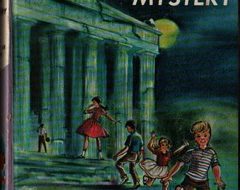 The Bobbsey Twins and the Greek Hat Mystery + Laura Lee Hope + 1964 + Vintage Kids Book