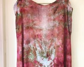 Hand Dyed Tank Dress in Painted Hills, Terra Cotta, Anna Joyce, Portland, OR