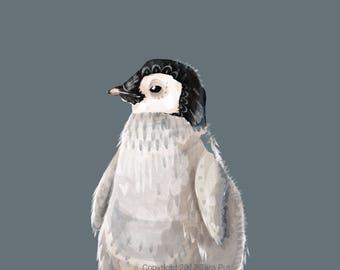 Baby Penguin - Print