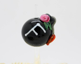 F Bomb Lampwork Bead Made To Order