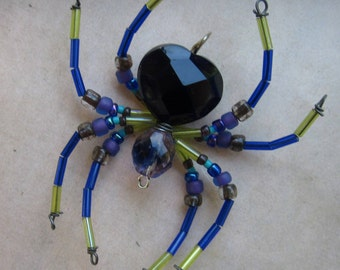 Beaded Spider Ornament Sun catcher