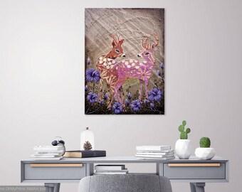 Gentle Whisper (Original Painting) 60x80cm