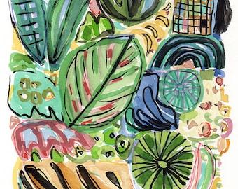 Garden, fine art print