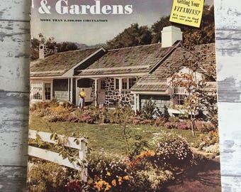 Vintage Magazines Better Homes and Gardens March 1941 Home Interior Garden Advertising Mid Century Modern Large Format