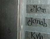 1-Personalized name Magnet  for Linda Nicoli